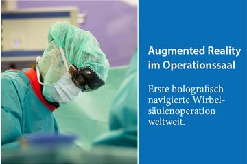 [Translate to Englisch:] Augmented Reality im Operationssaal